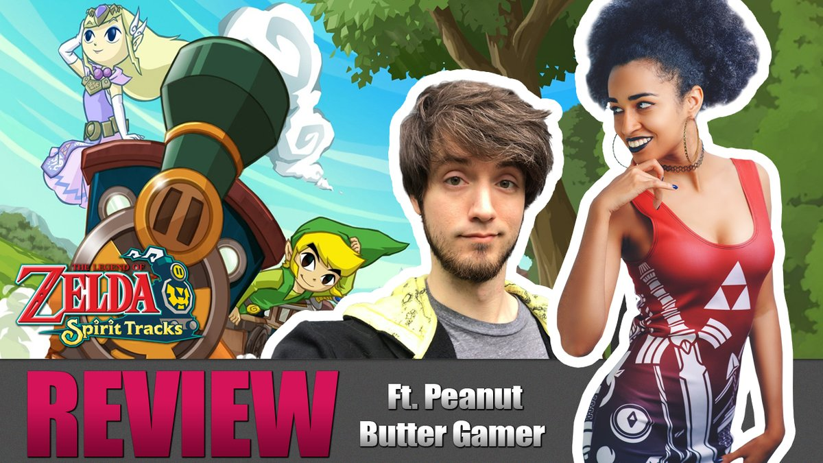 My latest review is here! Legend of Zelda: Spirit Tracks, and we have a special passenger on board! The LEGENDARY, @PeanutButterGmr !!! (I still can't believe it)  RTs are always appreciated!! <333   https://t.co/2iptgijDlY https://t.co/7aRLtZ1V7p