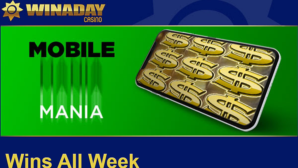 Winaday casino bonus coupons. Mobile Week match bonuses https://t.co/uItvPlV21W #casino #match #slots #freespins #bonus #CouponCode #casinobonus #casinoUSA #CasinoAustralia #Winaday https://t.co/IOV7cMD0Bb
