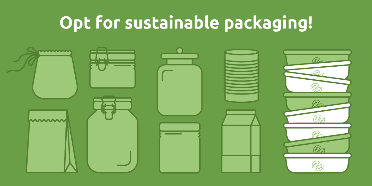 #DYK that only 42% of plastic waste is recycled in the EU 🍎 #Buybulk when you can ♻️ #sortyourwaste to recycle your paper, glass, metal or plastic packaging 🌱Or opt for compostable #bioplastics like #YPACK Read the full article ➡️ eufic.org/en/food-produc…