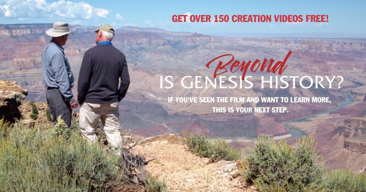 Giveaway Time, from Is Genesis History? Five 'Complete Creation Bundles & Conference Sets' are being given away with over 150 videos in each. #Sponsored challies.com/giveaways/free…