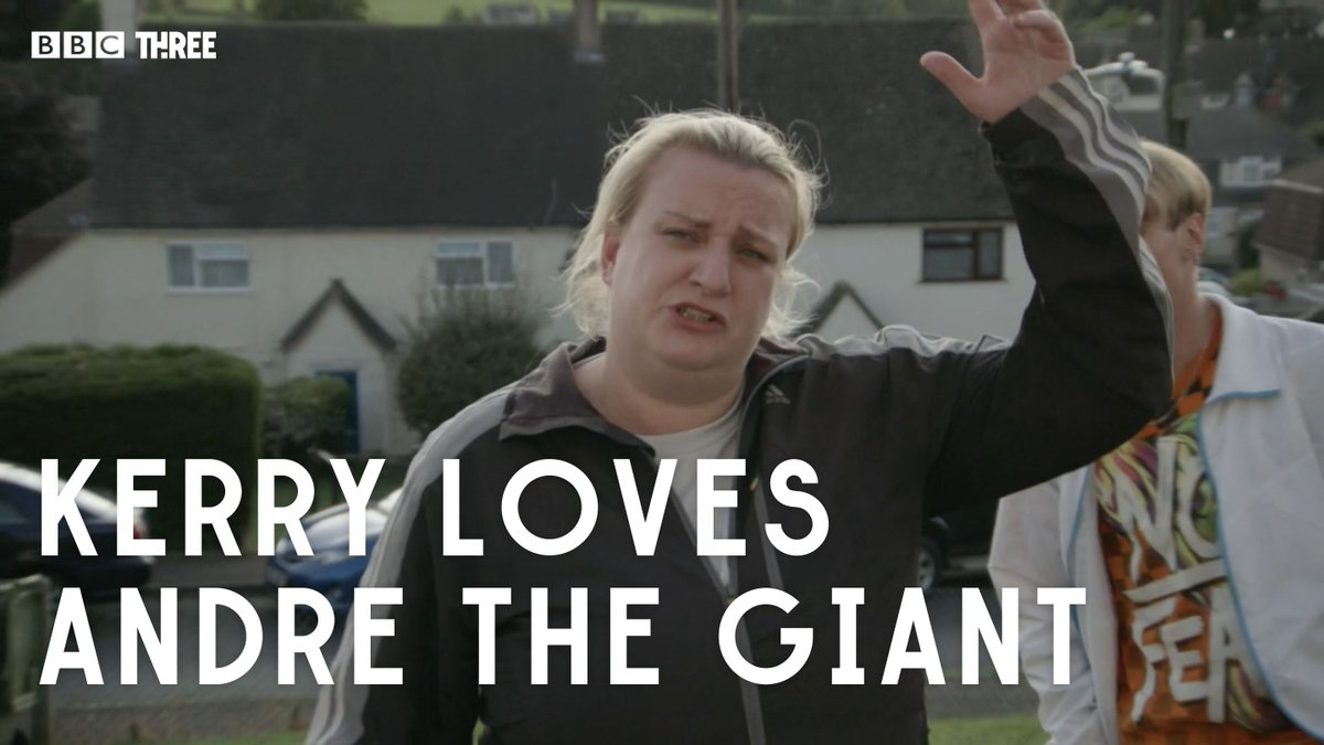 Find someone who loves you as much as Kerry loves André the Giant. #ThisCountry