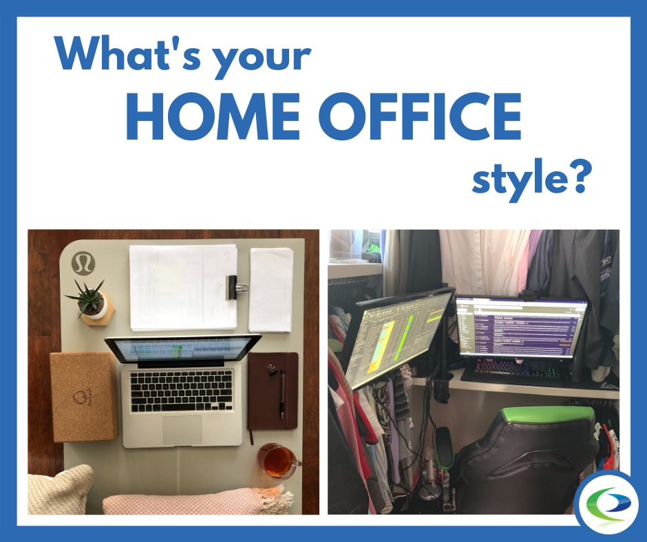 What's your home office style: Picture-Perfect, or more of a Make-Do kinda vibe? #eventprosoftware #eventpro #funfriday #friyay #friday #happyfriday #eventprofessionals #eventmanagement #workspace #homeoffice #workspacegoals #deskgoals #onmydesk #desksituation #whereiworkpic.twitter.com/0FrngLIgGX