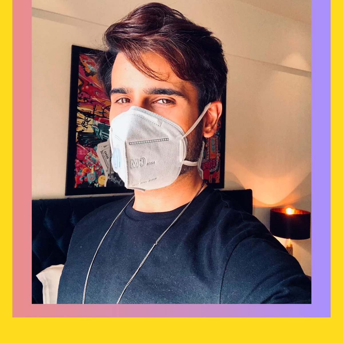 .@karantacker reminds us of wearing a mask  Are you'll wearing it?  #KaranTacker #Tellywood #StayHome #StayHomeStaySafe #PopDiariespic.twitter.com/dqhFBqdhiI