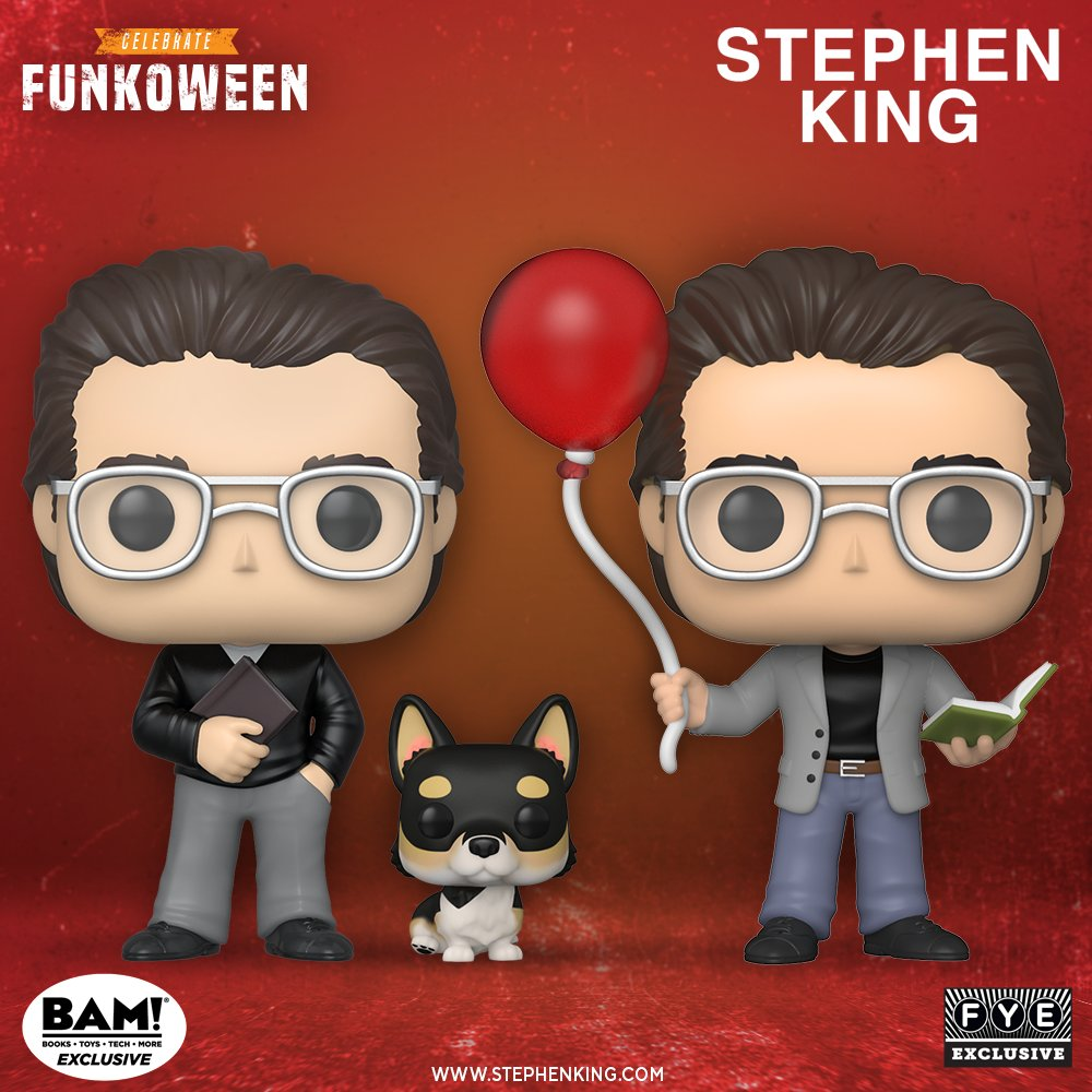 Funkoween in May presents: Pop! Icons - Stephen King Pre-order now here: bit.ly/2XiSm7B and here: bit.ly/2XhqLnj @StephenKing @paradigmagency @booksamillion @officialfye #stephenking #paradigmagency #booksamillion #fye #funkoween #funko #pop #funkopop