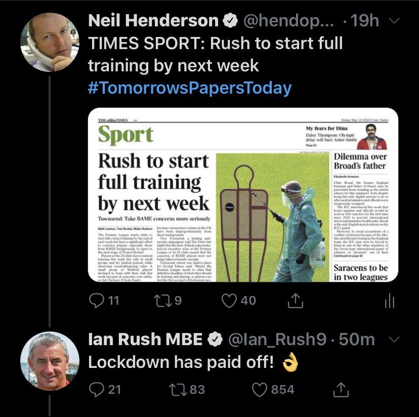 Tweet of the week!