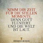 Image for the Tweet beginning: Nimm Dir Zeit für die