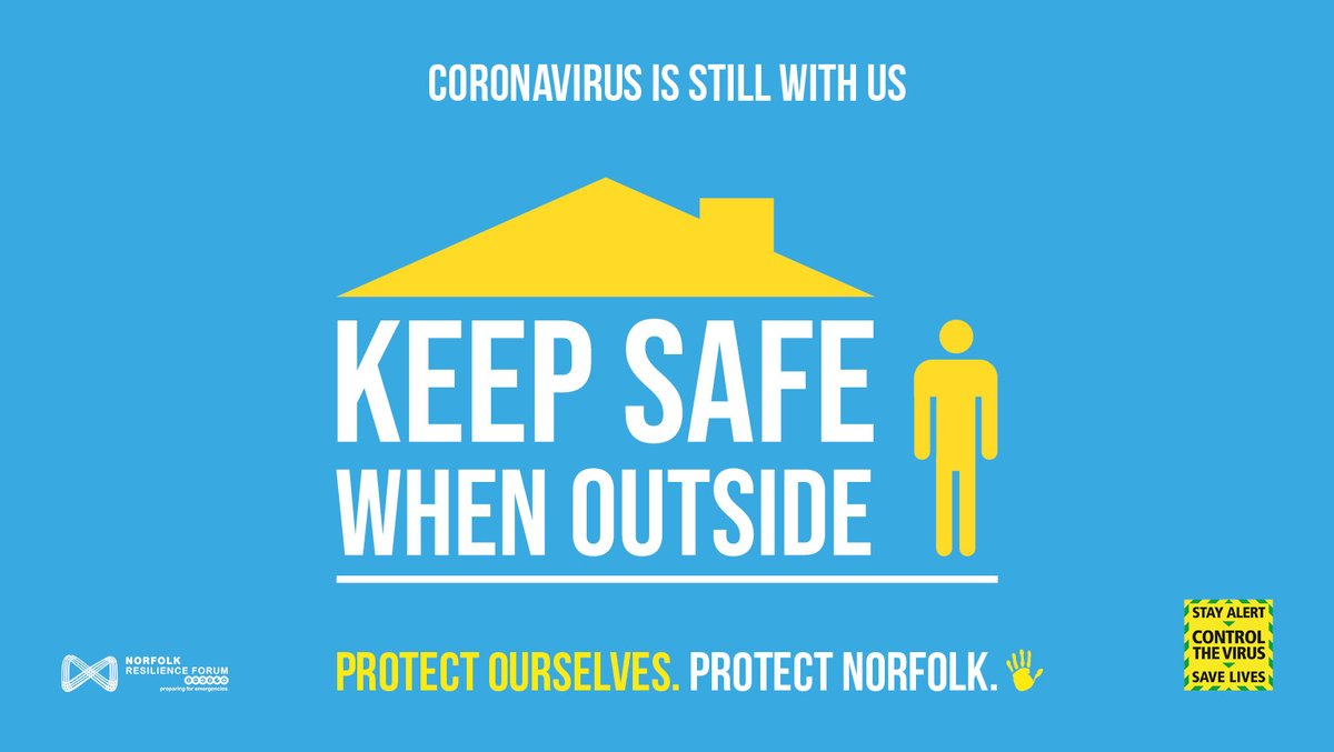 The bank holiday is here ☀️ Let's keep doing the right thing ✅ Stay at home as much as possible🏠 Its the best way to reduce the spread of the virus🤧 Stay in your local area where you can 🌳 If its busy, go somewhere else. Please don't add to the crowd 👪 #ProtectNorfolk