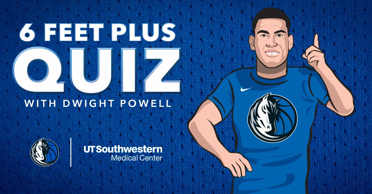 Visualizing six feet apart can be a challenge. That's why we asked @dallasmavs star @DwightPowell33 for an assist. Test your 6 Feet Plus knowledge: https://t.co/60rS8SpOjQ #MFFL https://t.co/Vfx7qCTVnG