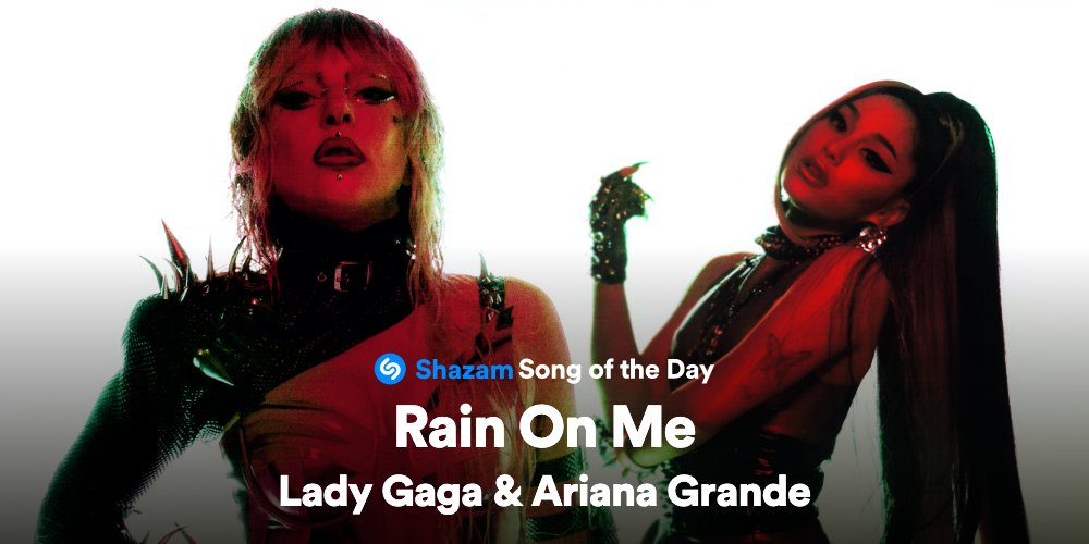 The perfect collab is here. Stream #RainOnMe by @ladygaga & @ArianaGrande: apple.co/3cX1q8C #SongOfTheDay