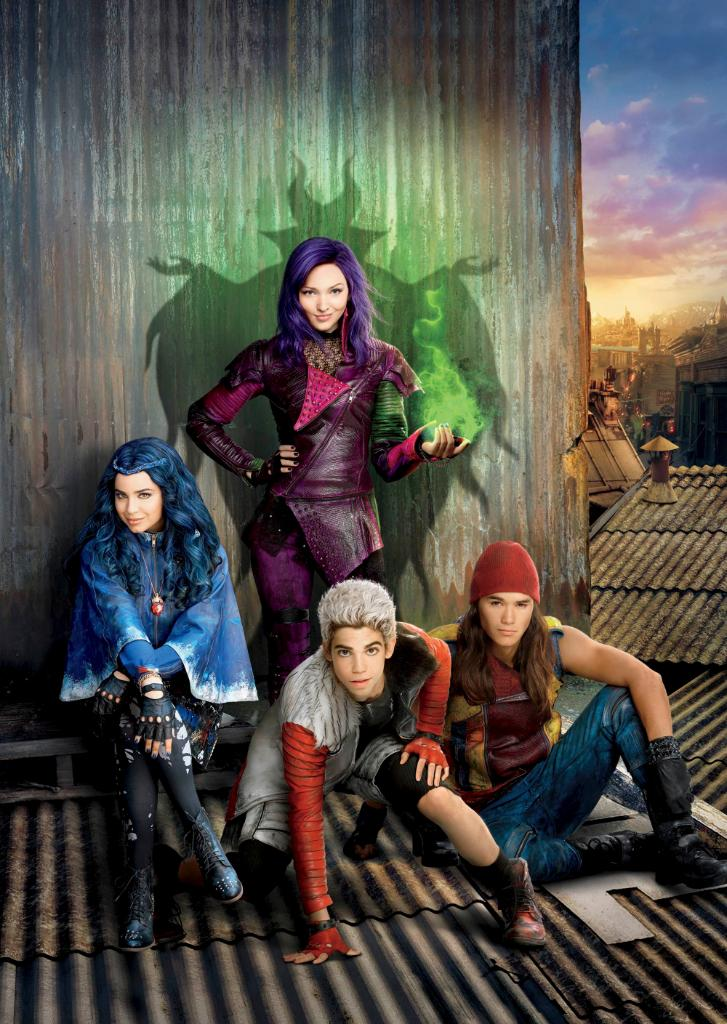 Bad looks good! Descendants, Descendants 2, and Descendants 3 are streaming on #DisneyPlus.
