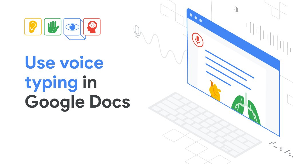 One way to help make #DistanceLearning more accessible is using the voice typing feature in @googledocs. Learn how to set this up for your students with dysgraphia or dyslexia, or for anyone who has trouble putting words to paper: goo.gle/2zaDRed. #a11y #GAAD