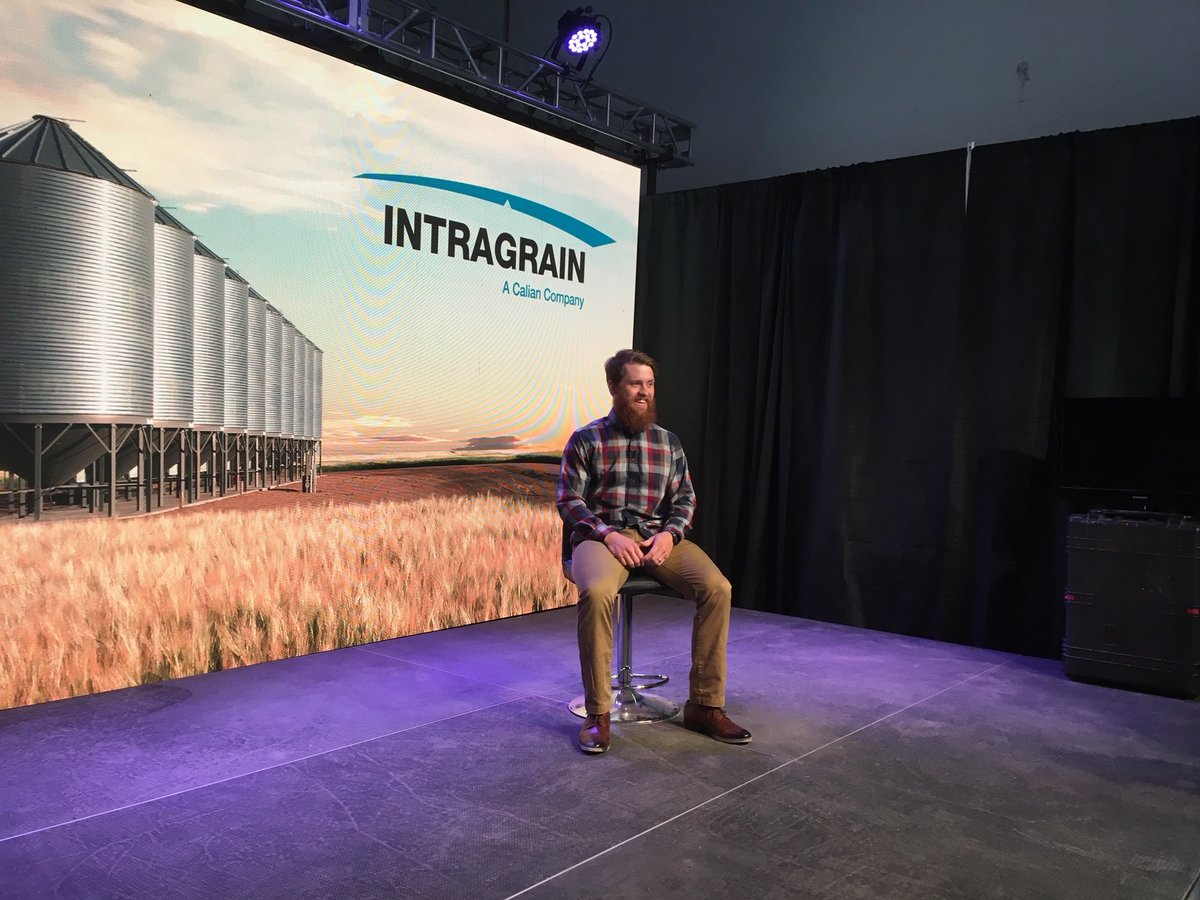 Preparations for @canadasfarmshow look different in pandemic times. Our CEO recorded a message for the show's faithful. Thanks @IKS_media_SK and Blue Street Media. It was fun! #videoshoot pic.twitter.com/ZTgwPruZuM