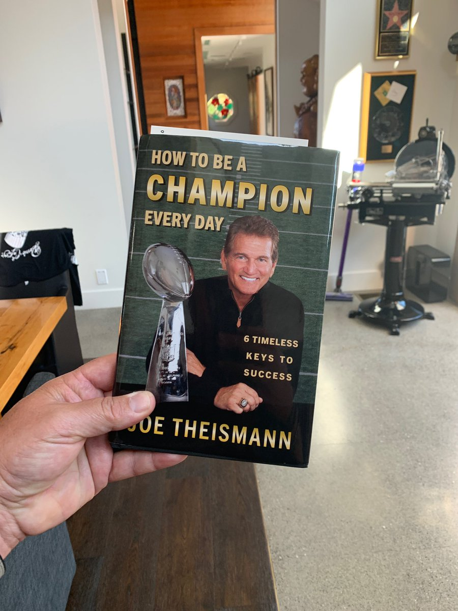 My brutha and friend @Theismann7 has a great new book ya gotta check out!