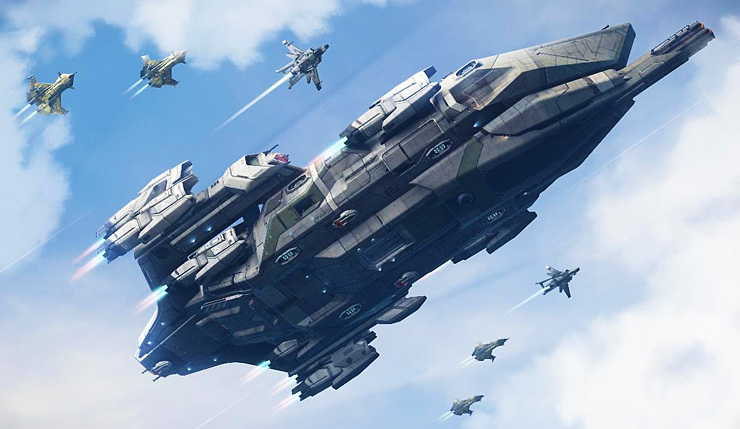 Star Citizen Free to Play for the Next 11-Days, Ships Available for Test Drives dlvr.it/RX9QWf