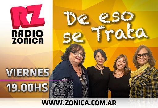 #AIRE #RadioZonica #GrupoZonicaEnCasa  Todo el equipo de #DeEsoSeTrata sale al aire desde casa, por http://www.radiozonica.com.ar // App: Radio Zonica. Educación, salud, sociedad, cultura y mucho más. ¡No te lo pierdas! #GrupoZonicapic.twitter.com/HljGwsIfPn