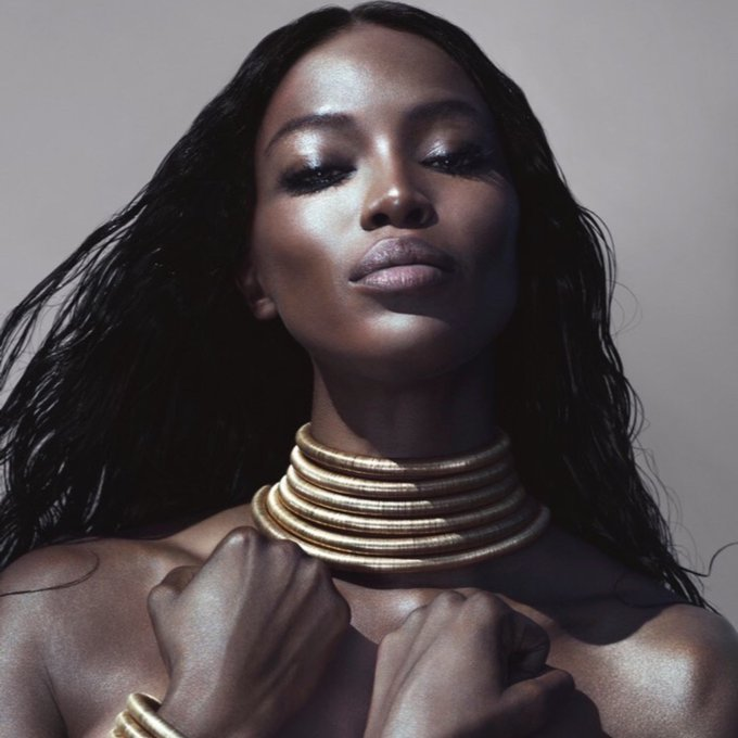 """I work very hard, and I\m worth every cent.\"" An icon living. Happy Birthday to THE Naomi Campbell."