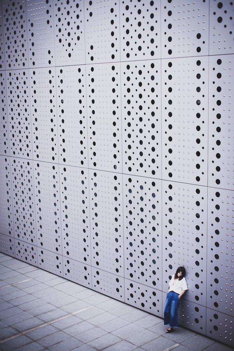 「Untitled」  model:Chinami #tokyo #museum #denimpic.twitter.com/l4hP3vBXOD