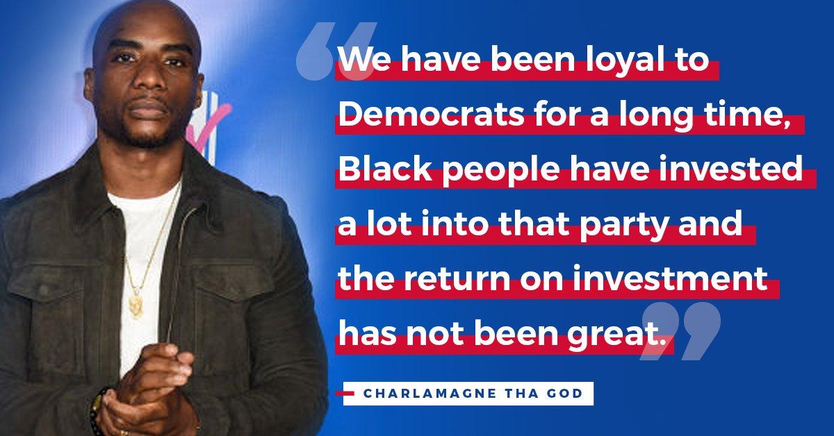 @TrumpWarRoom's photo on Charlamagne