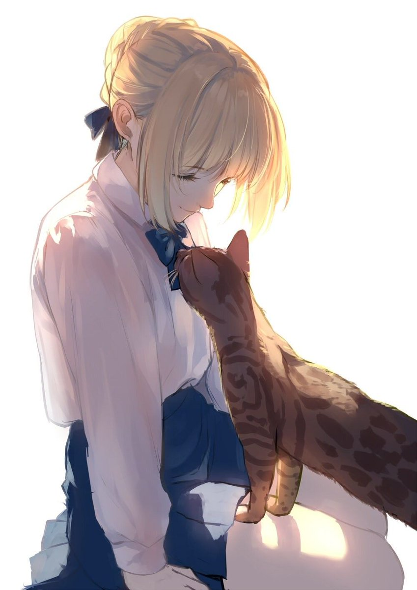 Meow~ https://i.redd.it/9yclil955e051.jpg… #fate #saber pic.twitter.com/sdrEgbq4X3