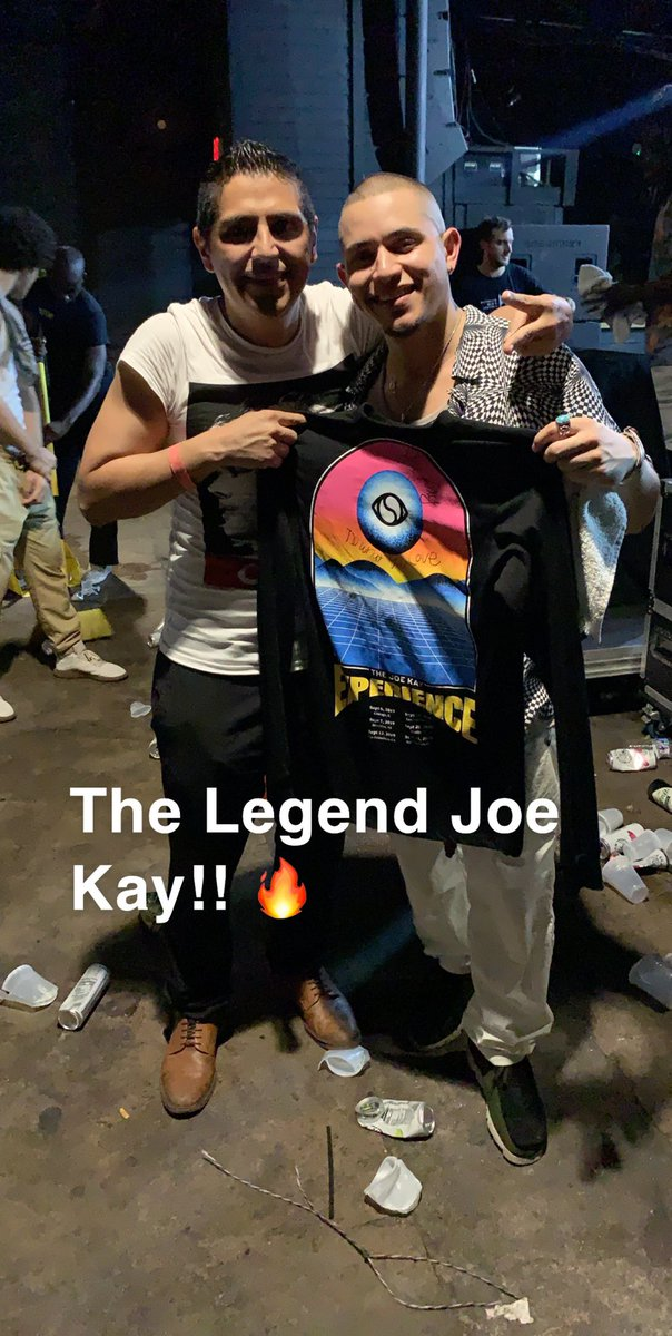 @joekay Your Austin show changed my life brother!! Bless up. 🙏🏻✌️🙌