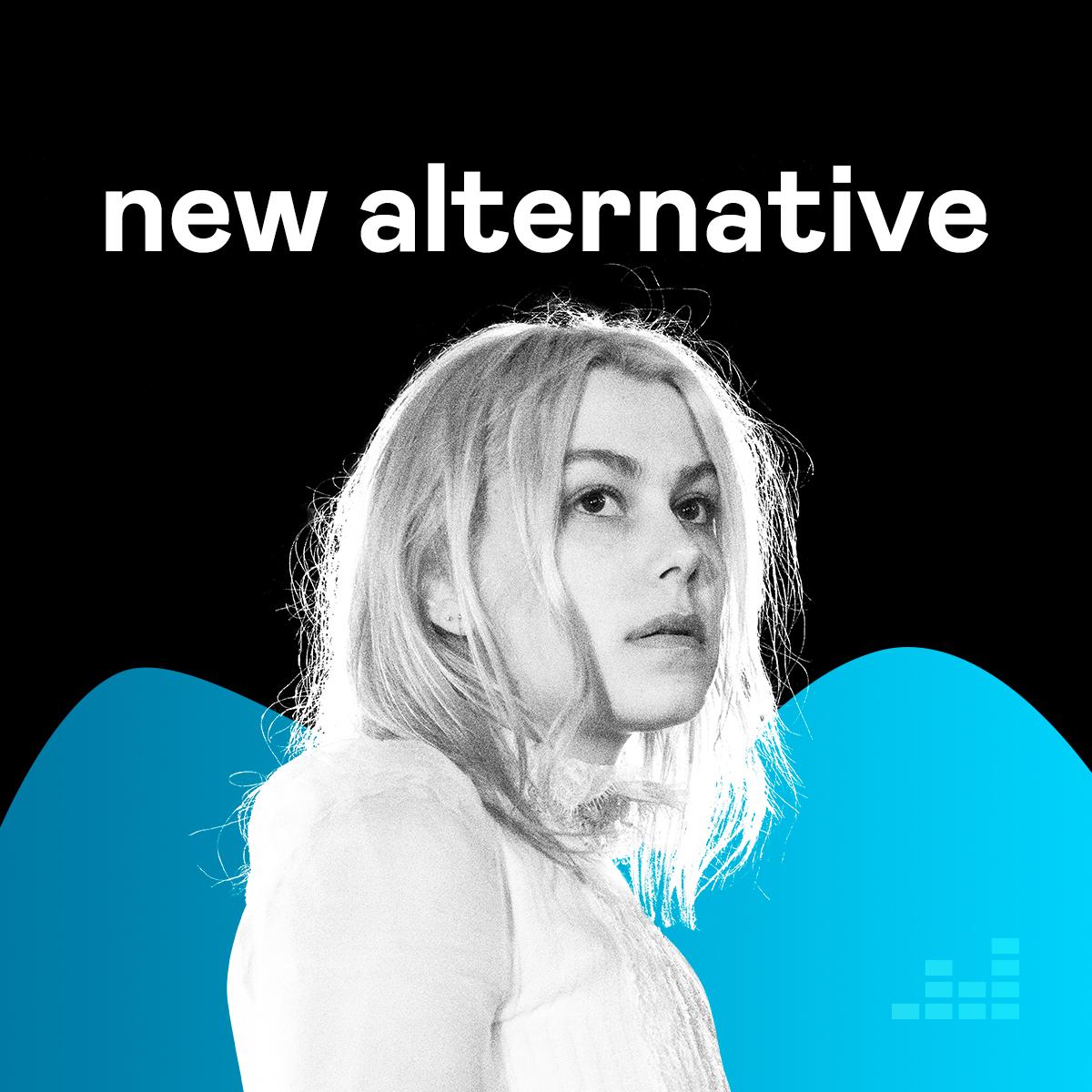 Oh hey! @phoebe_bridgers is on @Deezers New Alternative cover! ✨ Listen to the whole playlist here: dzr.fm/NewAlt