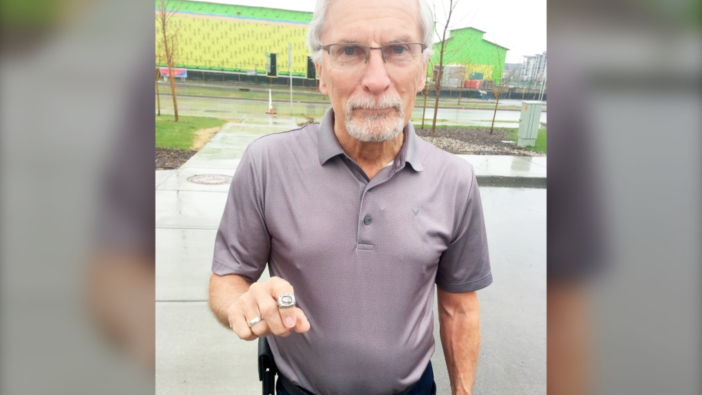 'Quite pleased to see it again': 1999 hockey championship ring returned to rightful owner