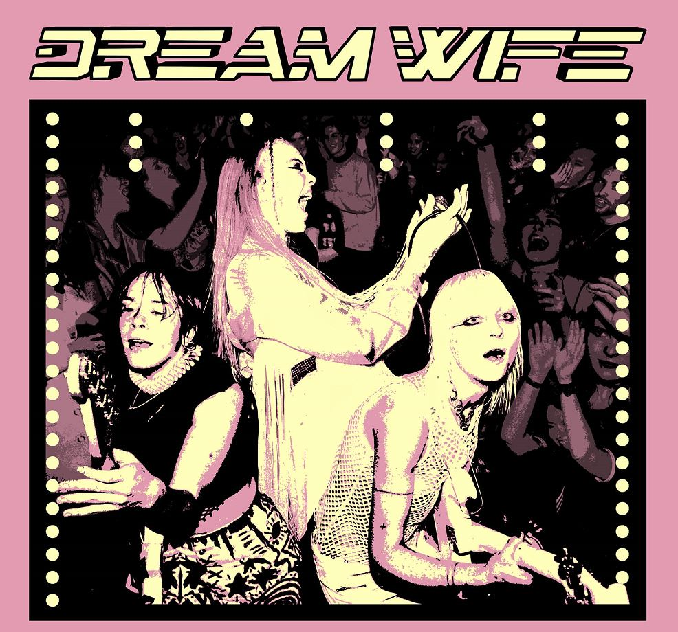 On sale now – Next year @DreamWifeMusic are coming your way to play their new album >>