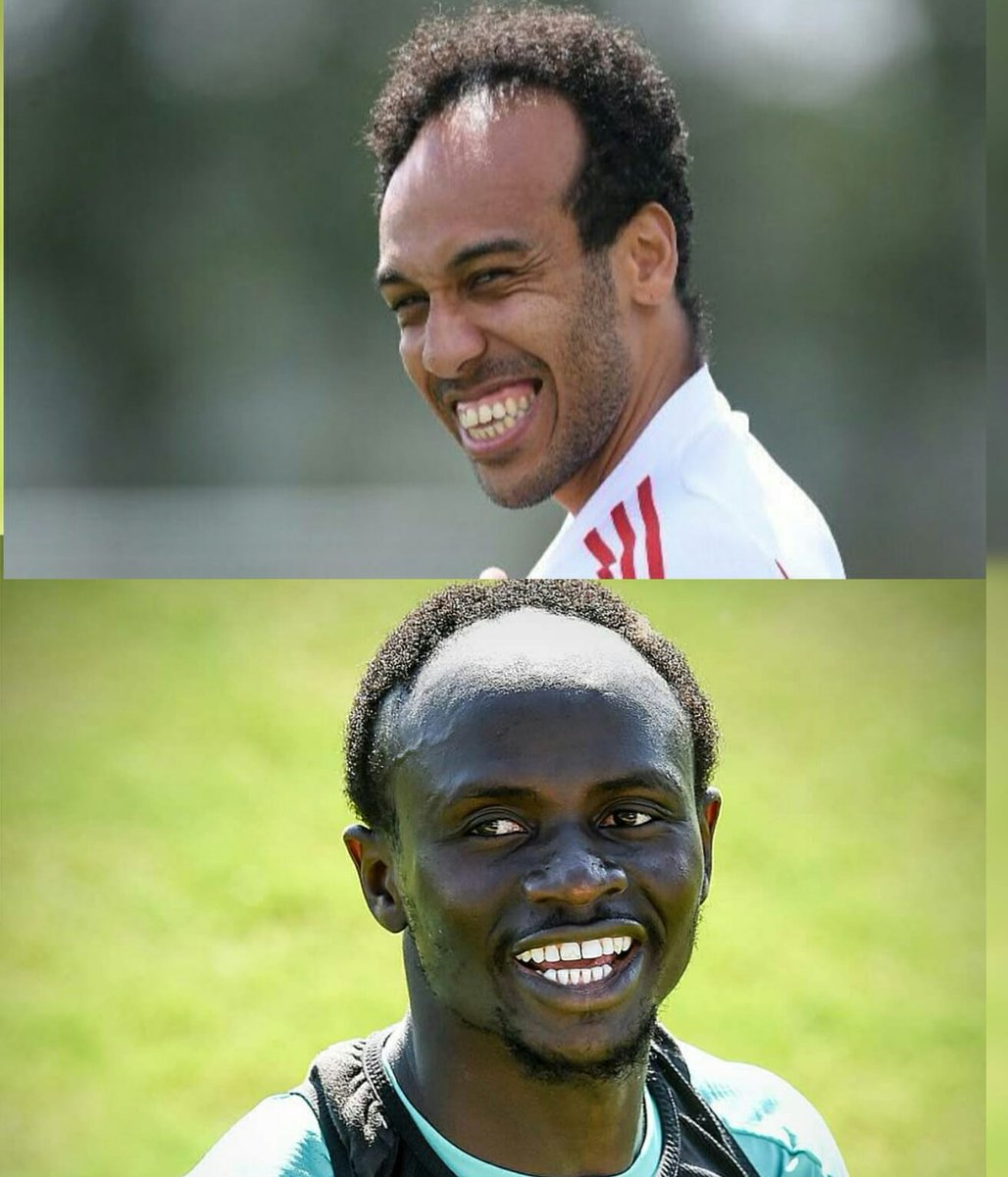 A tale of new hairstyles as African stars head back to training for their respective clubs.  #aubameyang #Gabon #sadiomane  #Senegal<br>http://pic.twitter.com/98jYNe0n2L