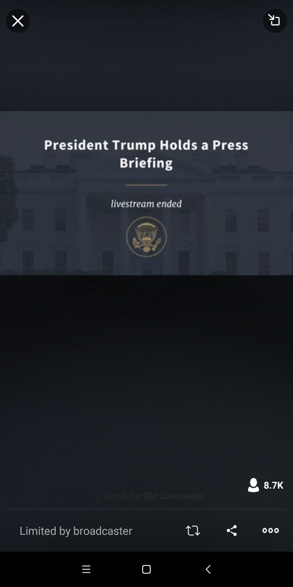 LIVE: President @realDonaldTrump holds a press briefing https://t.co/a0IryTF5oM https://t.co/Jb7zjyULkZ