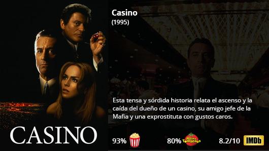 Casino (1995)  Robert De Niro Sharon Stone Joe Pesci James Woods  Director: Martin Scorsese  #Crimen #Drama    http://Netflix.com/title/70019012pic.twitter.com/OxB3vgxZt6