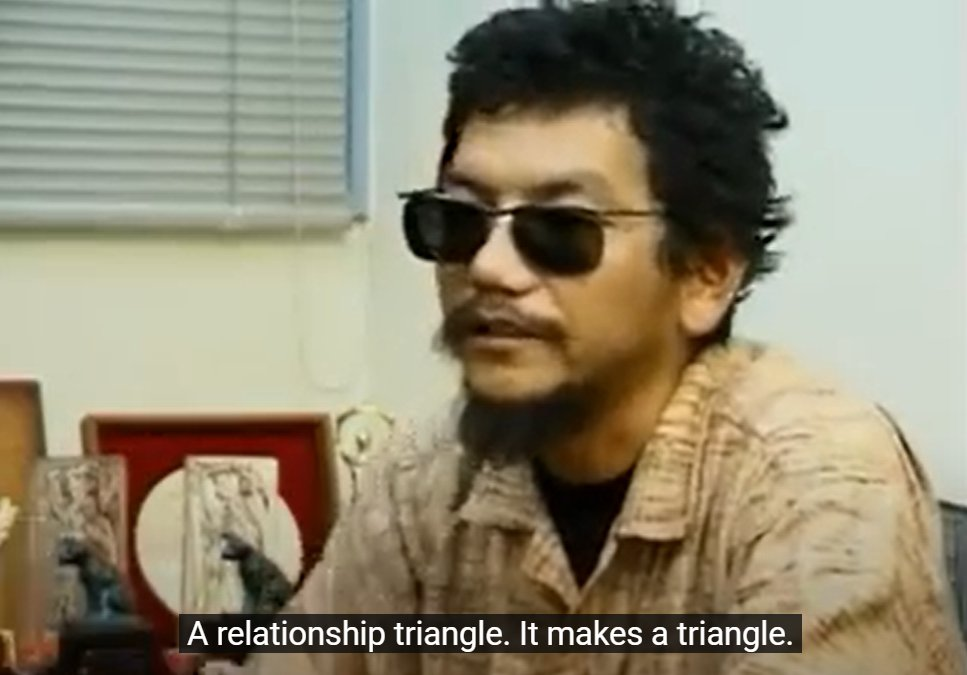 Happy 60th birthday to Hideaki Anno!The mastermind behind neon genesis evangelion!
