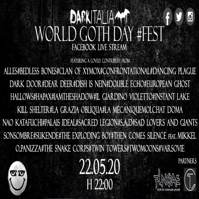 Video: Darkitalia World Goth Day #fest    #Musiceternal #Darkitalia #OnlineFestival #Fest #WorldGothDay #Gothic #GothicMusic #Italy