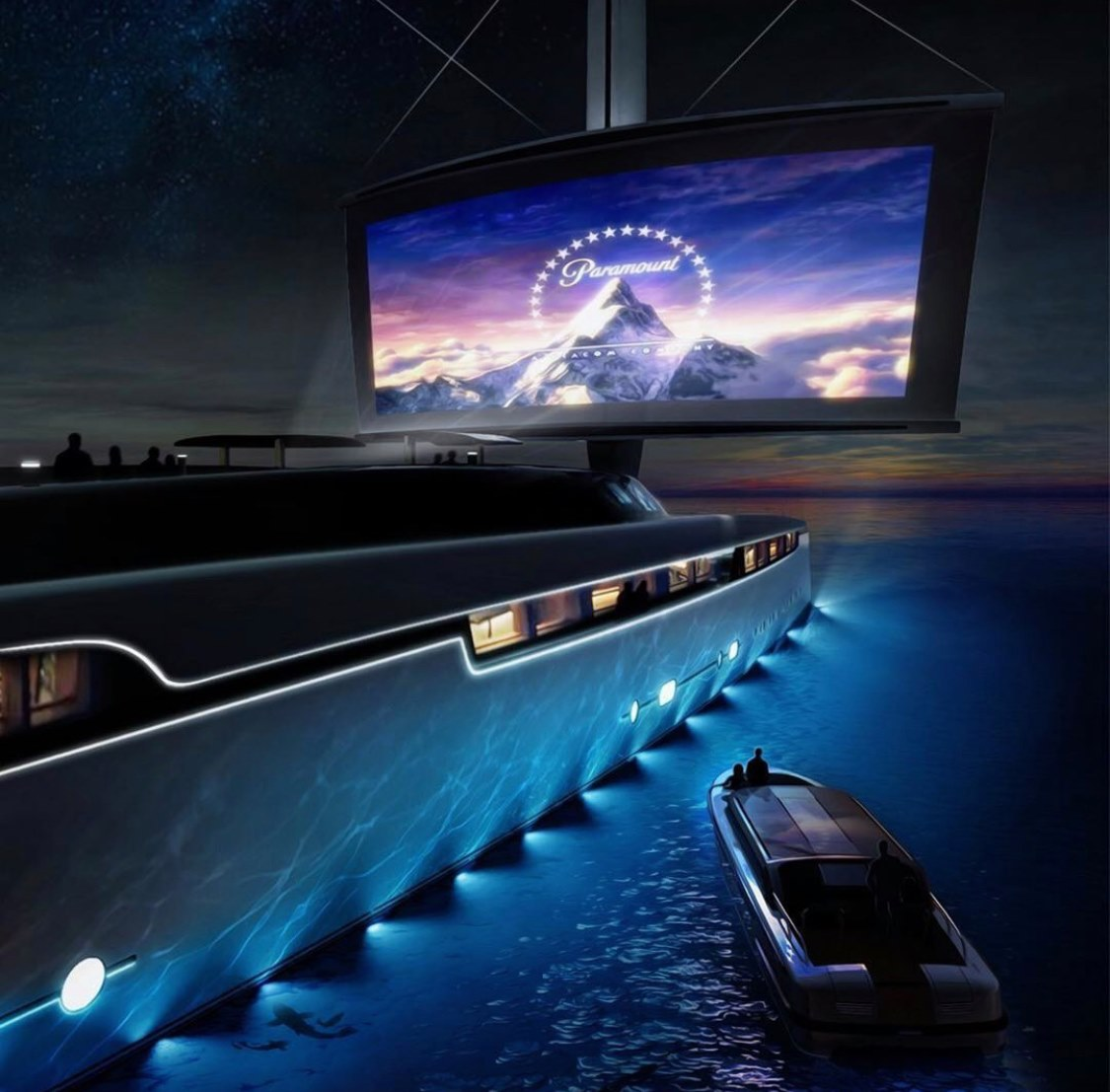 The perfect setup  Which movie would you watch first?   The 88m Project LOTUS with an incredible cinema design by Yacht Intelligence.  @YachtIntell  #projectlotus #superyachttechnology #driveincinema pic.twitter.com/C0utfT6XHc