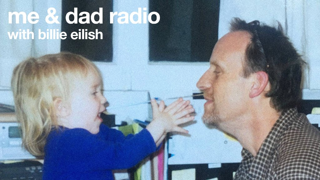 .@billieeilish is back with Episode 2 of me & dad radio. Listen now: apple.co/Me-N-Dad