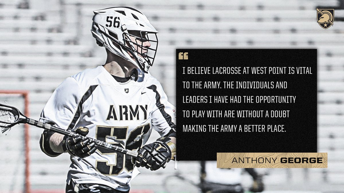 You dont want to miss this message from senior Anthony George. #FamilyToughnessTradition 👀📖 goarmywestpoint.com/news/2020/5/21…