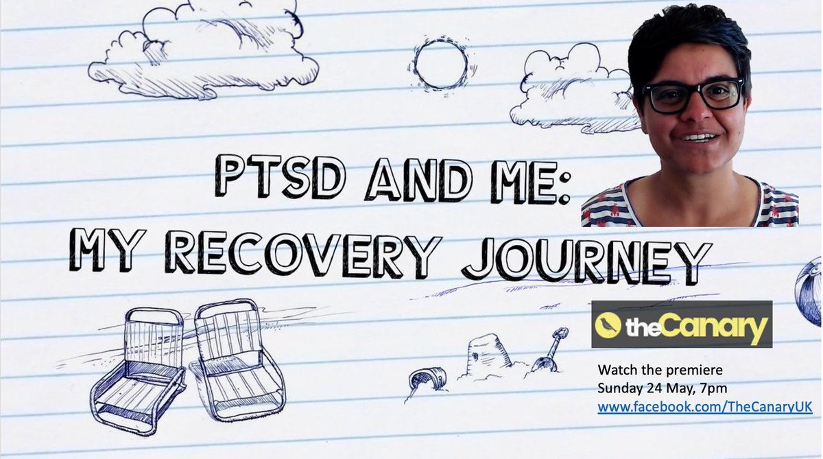In 2018, I was diagnosed with PTSD. For #MentalHealthAwarenessWeek, Im sharing my story for the first time. Join us at 7pm on Sunday 24th May. Facebook: facebook.com/TheCanaryUK YouTube: youtube.com/watch?v=75QmUb…