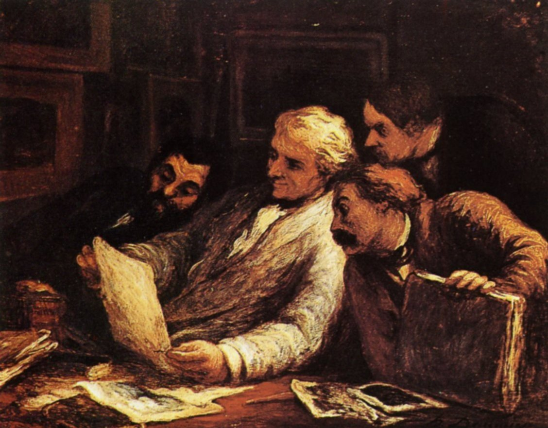 Four amateur of prints #honoredaumier #realism<br>http://pic.twitter.com/WDc87yqWsD