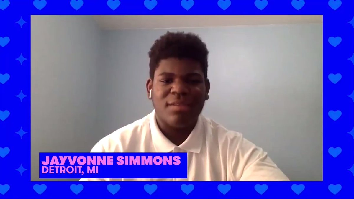 Students like Jayvonne understand how important it is to engage young people early so they become lifelong voters.  Help us celebrate the 20 winners of the #PromChallenge tonight by joining #MTVPromathon at 9pm ET →