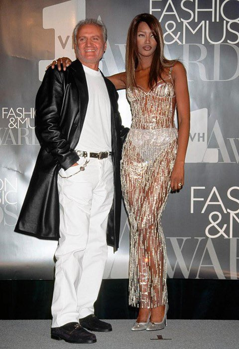 Happy Birthday to Naomi Campbell! Gianni Versace s muse