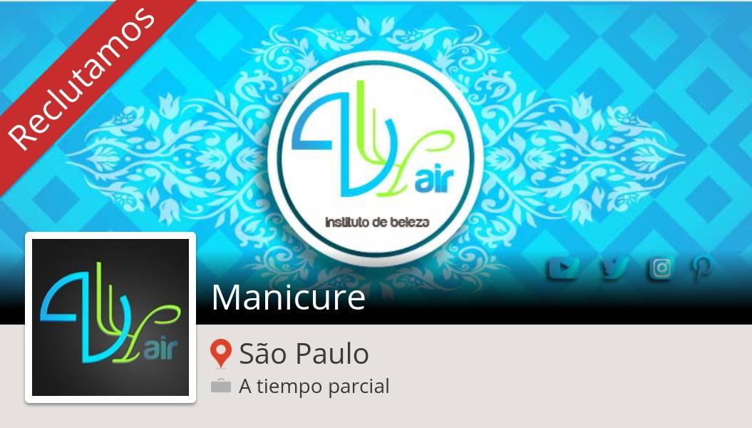 Manicure (#SãoPaulo) https://workfor.us/2kn530u #empregopic.twitter.com/7MkW5jE6AG