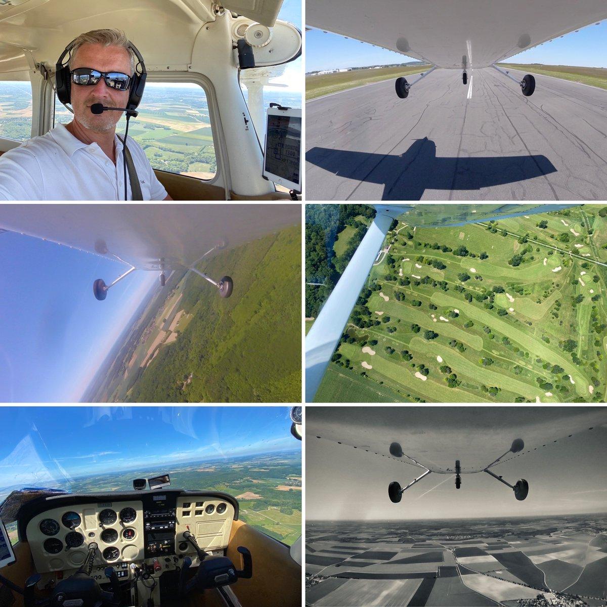 @AvgeeksFR   Le moteur est le coeur d'un avion, mais le pilote est son âme. Du vrai déconfinement pur! Vol Local NW IDF https://t.co/9QtEBlCufU