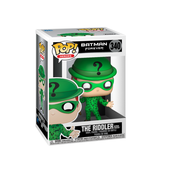 RT & follow @OriginalFunko for the chance to win a The Riddler Pop! bit.ly/36p18oK