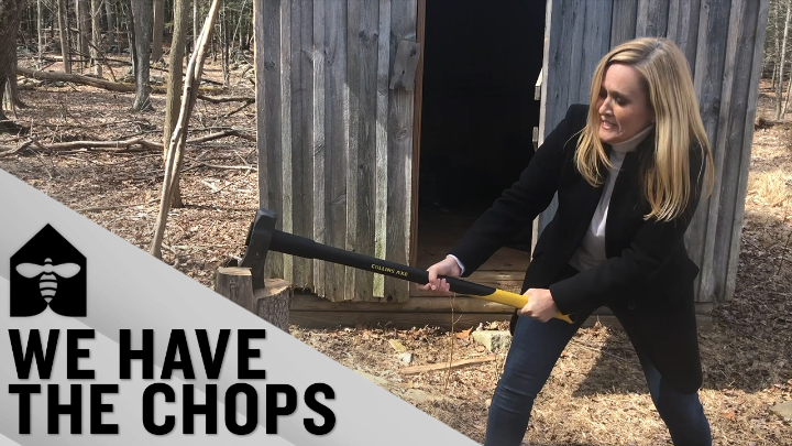 It's National Work From Home Day! We're all pros by now, but if you can believe it, there was a time when Sam barely knew her way around the shed.