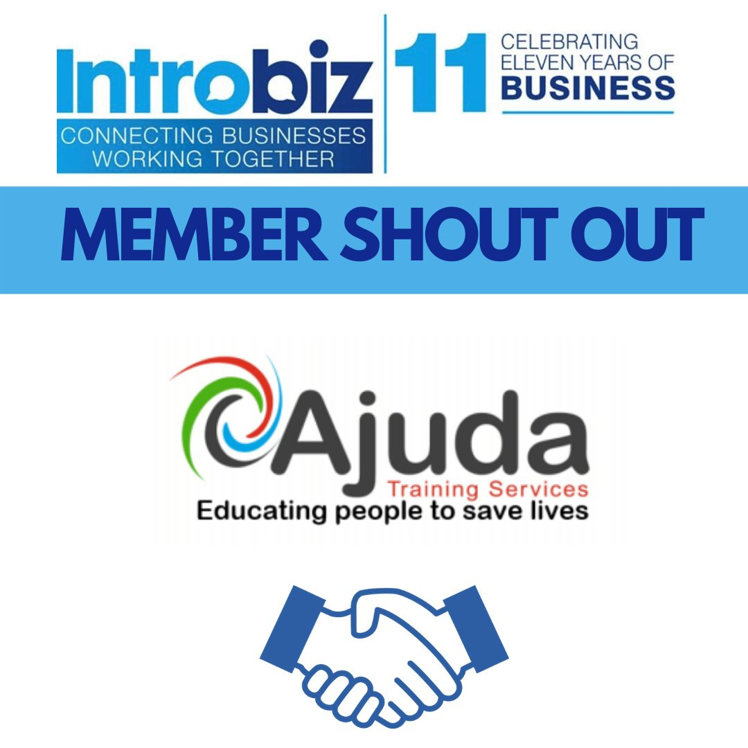 Shoutout to @Ajuda_Training! They're an Accredited Training Provider offering #HealthAndSafety #FirstAid #MHFA #ManualHandling #FireSafety #FoodHygiene and #EmployabilitySkills #courses across the UK. Check out their website here http://ajuda.org.ukpic.twitter.com/6r2lxMfWdU