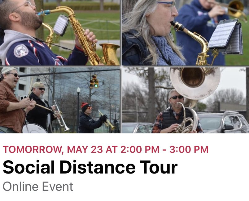 ⛈ is clearing & the ☀️is starting to shine. So time 4 our next #SocialDistance show! Tune in tomorrow at 2pm EST. Sit out on your porch with your favorite 🍻🍷& have some fun!  #musicismedicine  #musicformentalhealth @RMHCofCentralOH @nationwidekids @614Magazine @MusicLovesOhio https://t.co/3VC1tJQKQ8