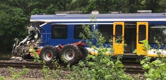 Hooghalen train crash