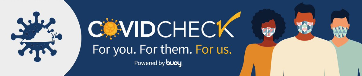 Virginians can now use COVIDCheck, a new online risk-assessment tool to check their symptoms and connect with the appropriate health care resource, including #COVID19 testing. ow.ly/UQfR50zO5Tk