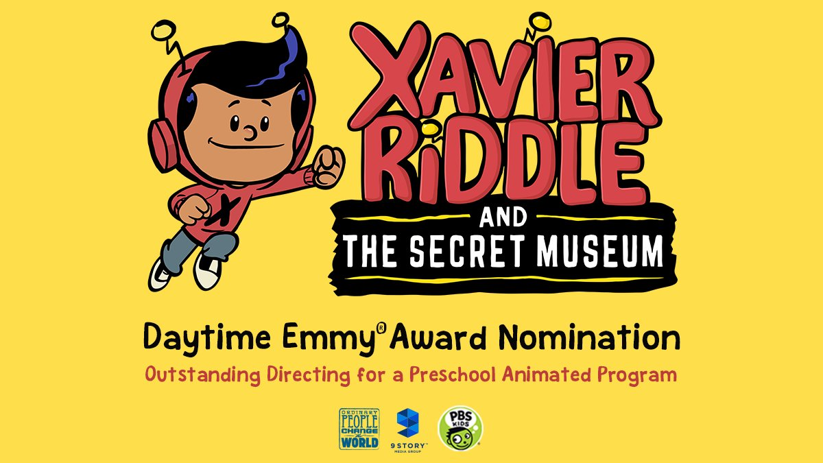 Xavier Riddle and the Secret Museum has been nominated for a Daytime Emmy Award for Outstanding Directing for a Preschool Animated Program!    Show some love to our incredible team who have taught us all a little something about being a hero!    #XavierRiddle<br>http://pic.twitter.com/ruGyMQ3b0p