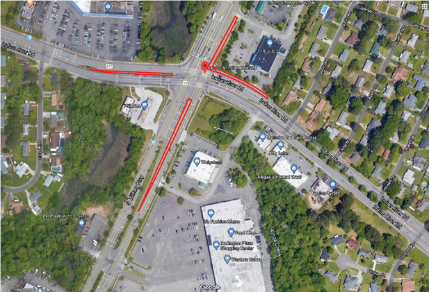 Starting at 5 p.m. today, May 22, utility work will result in the closure of a portion of South Military Highway. The outside lane of northbound South Military Highway near the intersection of Indian River Road will be closed. FMI: (757) 385-4735. tiny.cc/p0ikpz