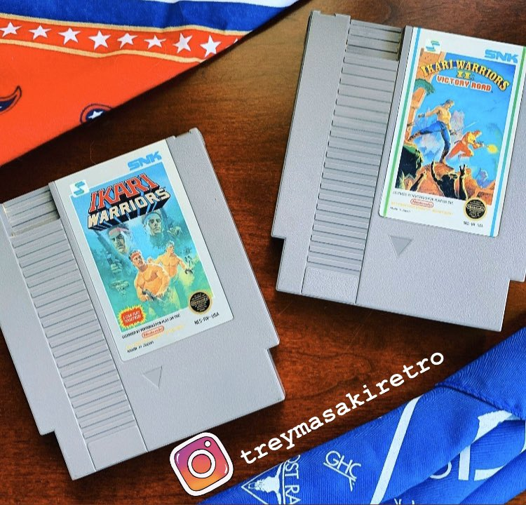 Ikari Warriors 1 & 2  Developed by  SNK in 1986 & 1988 for the Nintendo Entertainment System  . . . #ikariwarriors #nes #nintendo #nintendoentertainmentsystem #retro #videogames #retrogaming #retrogames #retrogamer #retrogame #retrogaminglife #retrocommunity #retrocollectivepic.twitter.com/um9xAZXhQh
